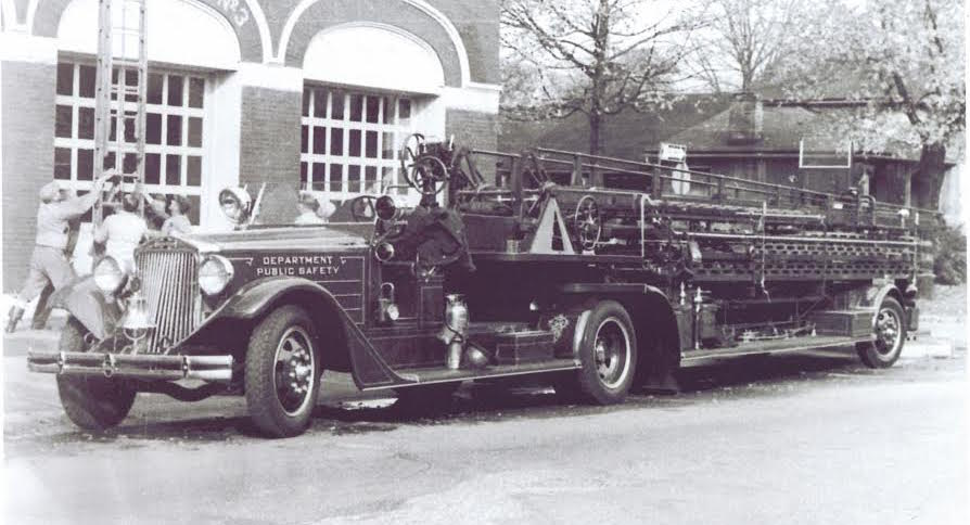 1937 American Lafrance Tiller Fire Truck Acquired By The