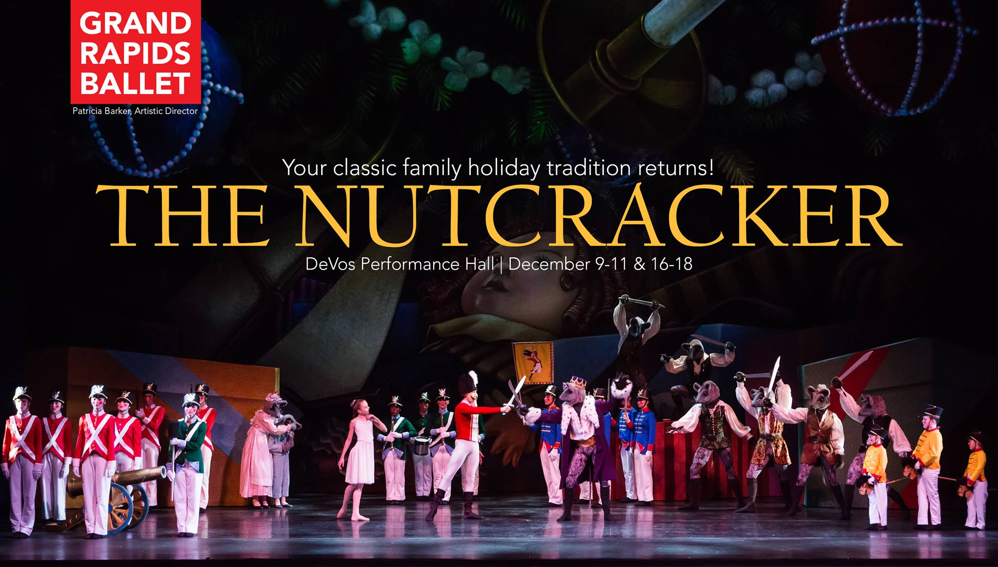 Grand Rapids Ballet Presents The Nutcracker West