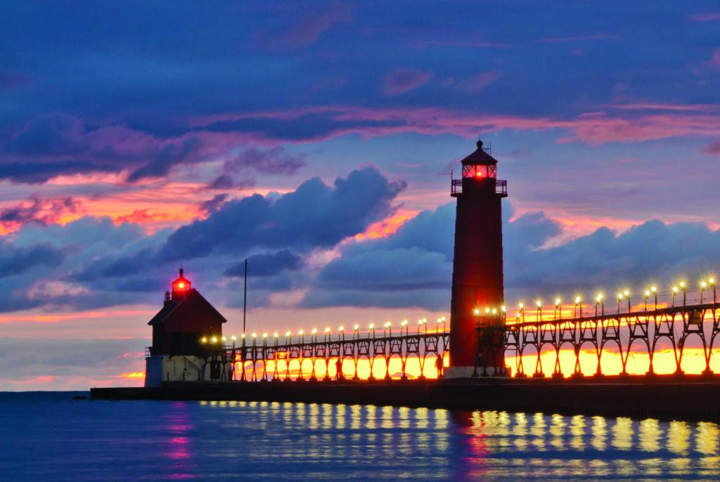 Grand Haven Lighthouse West Michigan Tourist Association