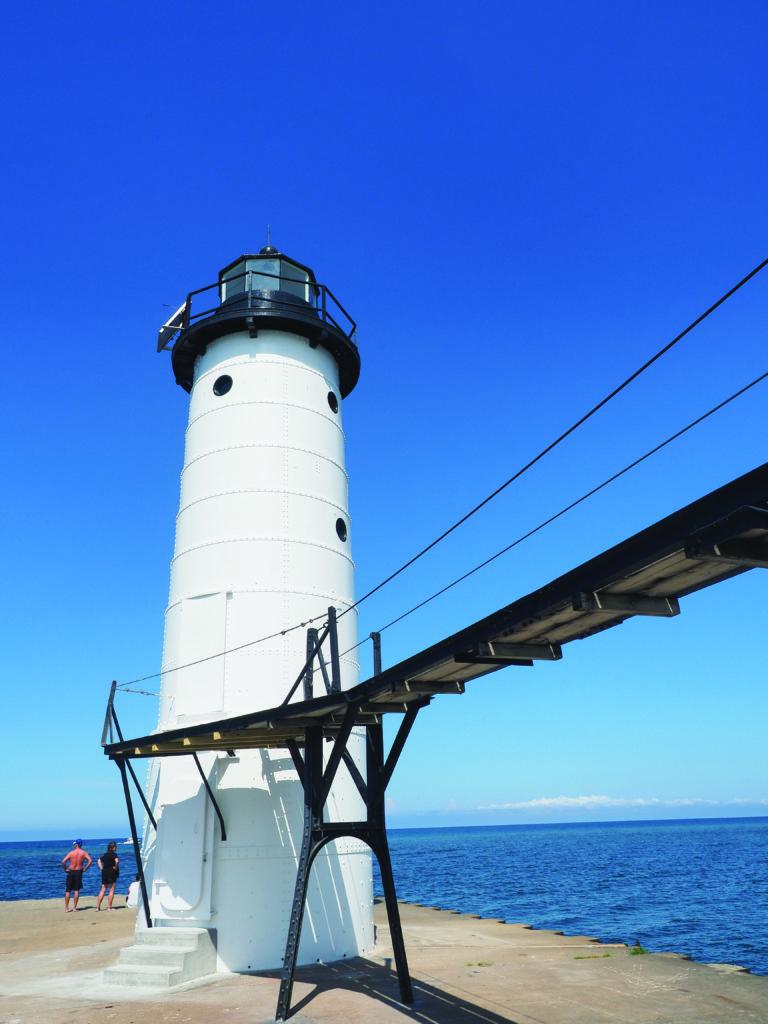 Manistee North Pierhead Lighthouse West Michigan Tourist