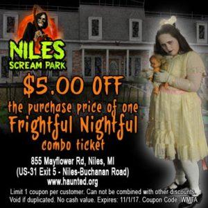 Frightful Nightful at Niles Scream Park