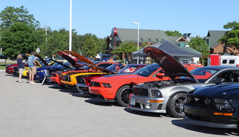 4th Annual Mackinaw City Mustang Stampede Celebrates Pure