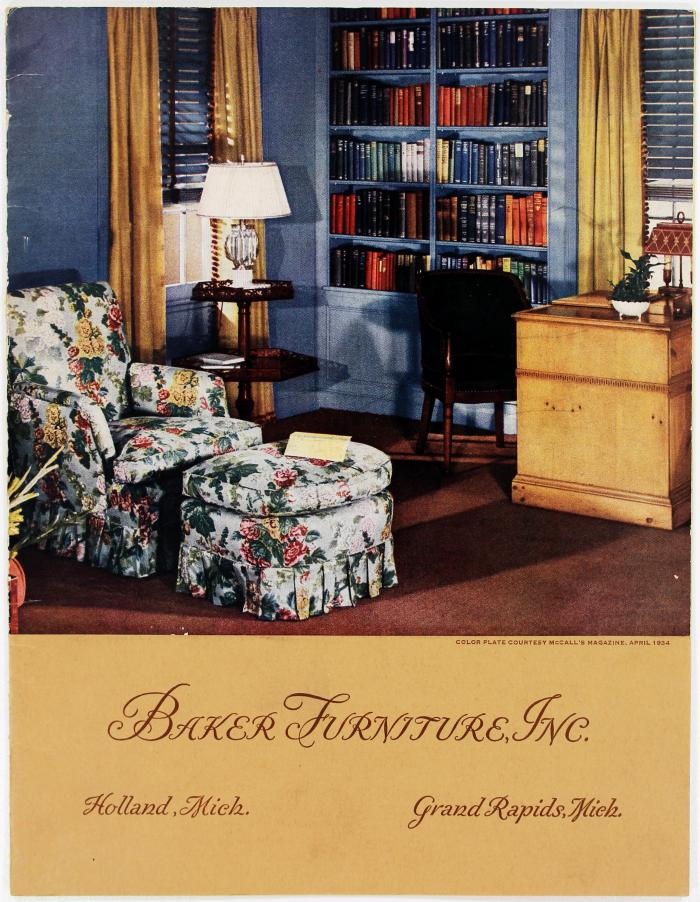Furniture catalog collection digitization project helps