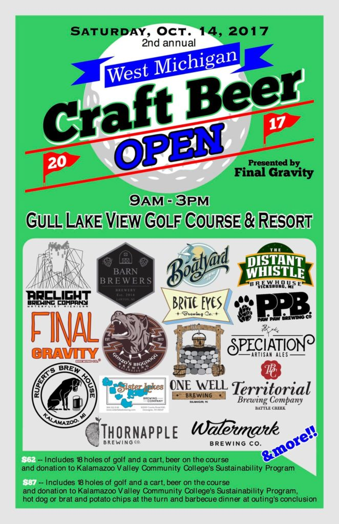 West Michigan Breweries​ ​to​ ​Host​ ​Second​ ​Beer-Focused​ Golf​ Outing