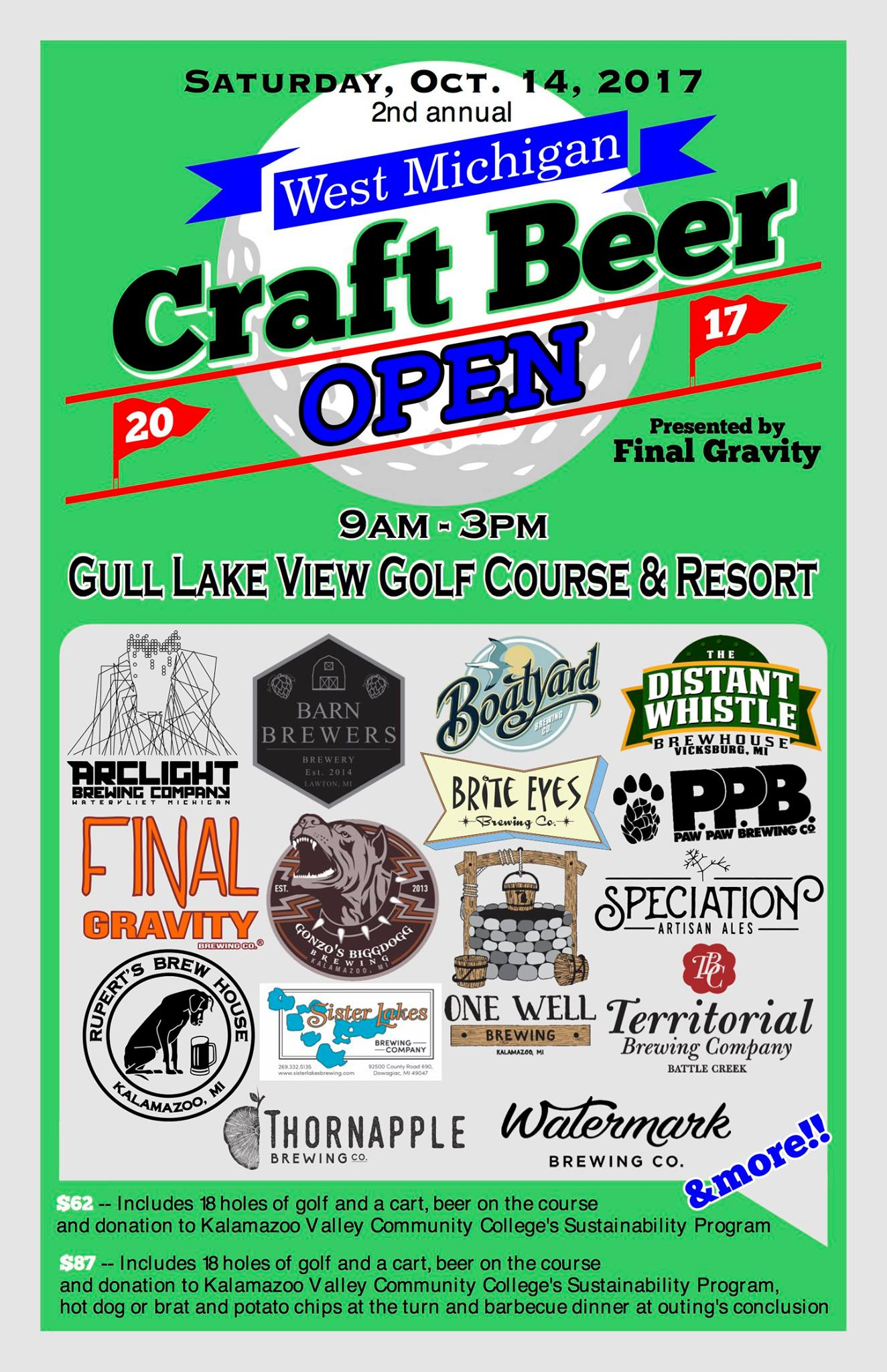 West michigan breweries to host second beer focused golf for Michigan craft beer festival