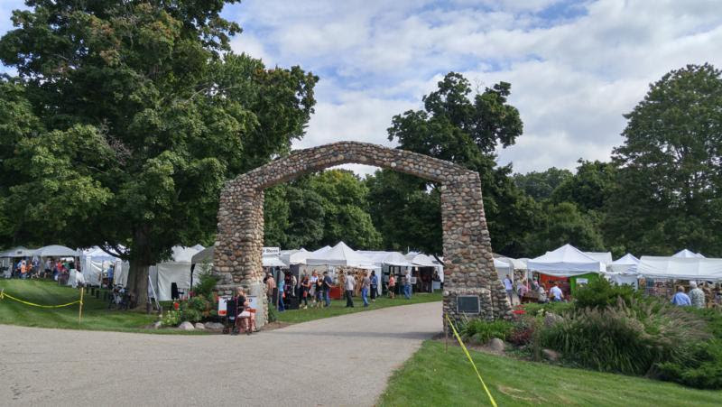 Annual arts and crafts festival at fallasburg park lowell for Craft show in michigan