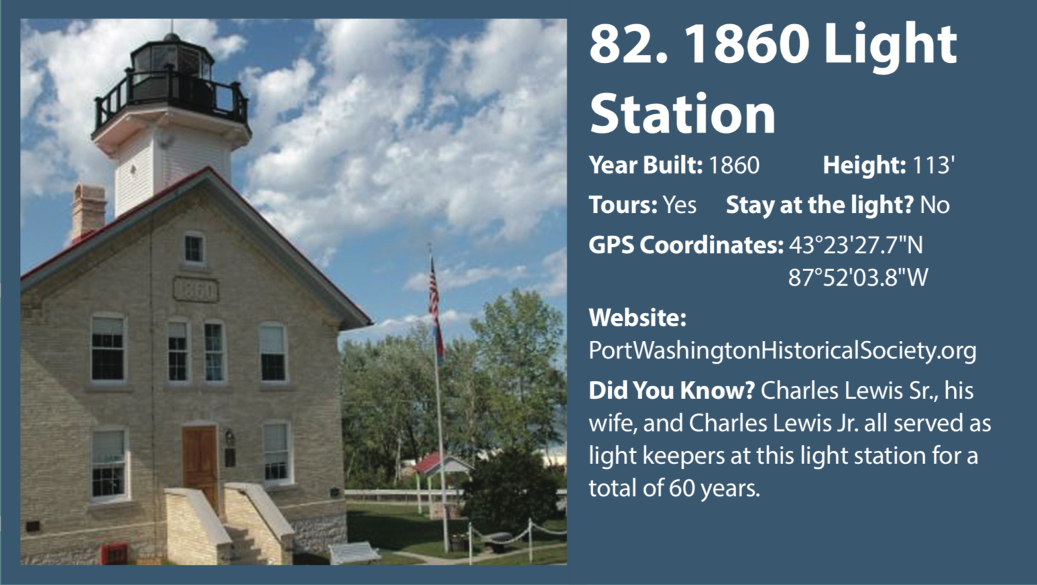 1860 Light Station West Michigan Tourist Association