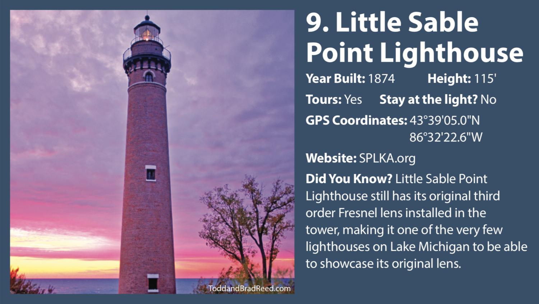Little Sable Point Lighthouse West Michigan Tourist