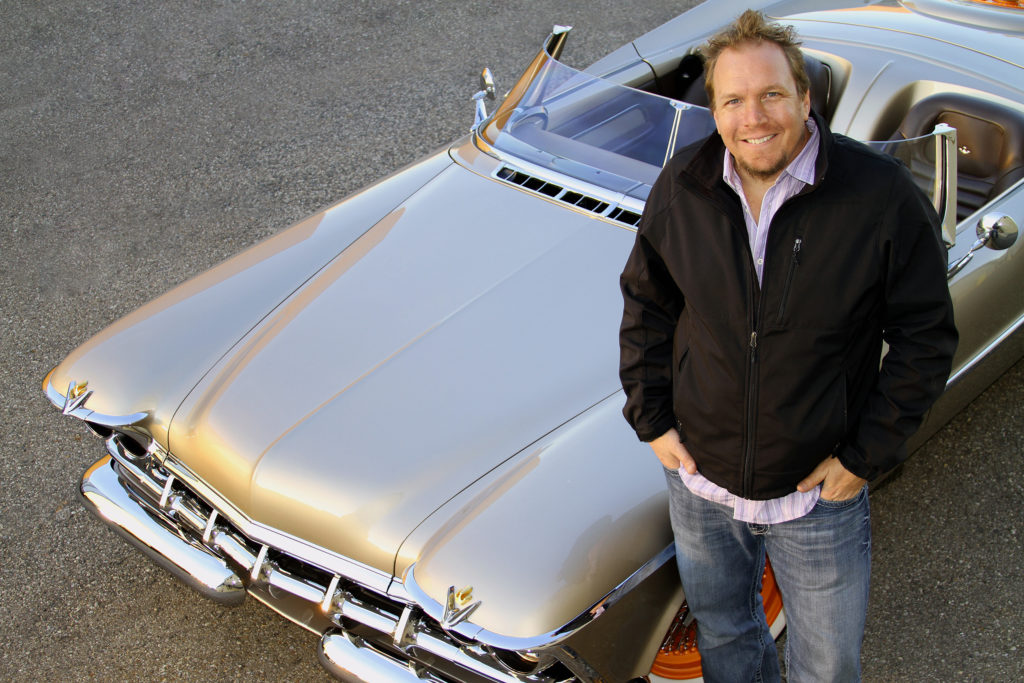 Hot Rod Designer Invited to Feature Work at St. Ignace Car Event as Guest of Honor