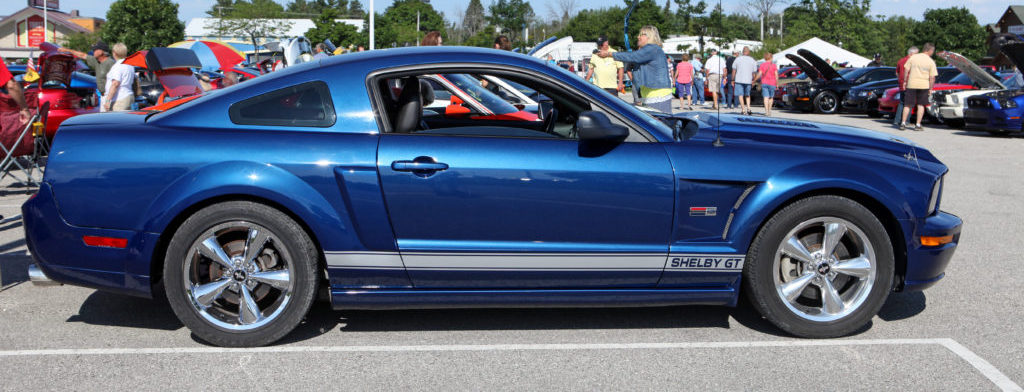 5th Annual Mackinaw City Mustang Stampede Rolls Into