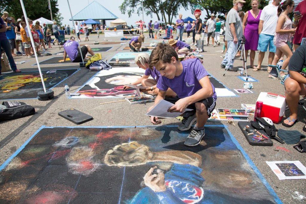 22nd Annual Chalk the Block Brings Midsummer Family Fun to St. Joseph