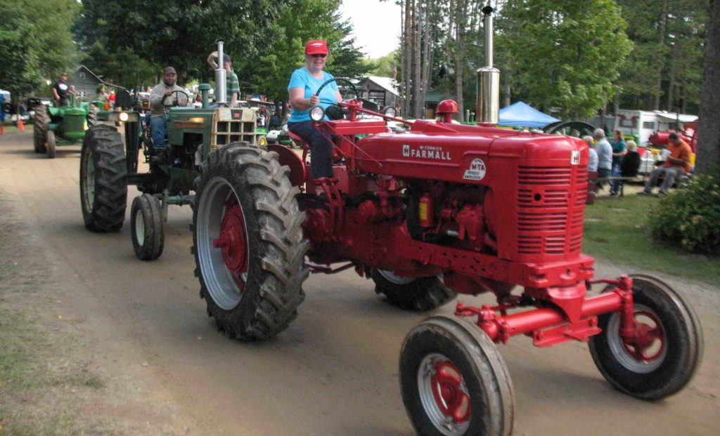 Michigan Flywheelers Celebrate 35 years of Old Engine and Tractor Shows