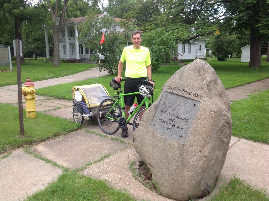 """Chuck Jager Presents """"Pedaling the Pioneer Path: Territorial Road ..."""