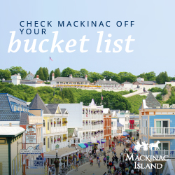 Mackinac Island West Michigan