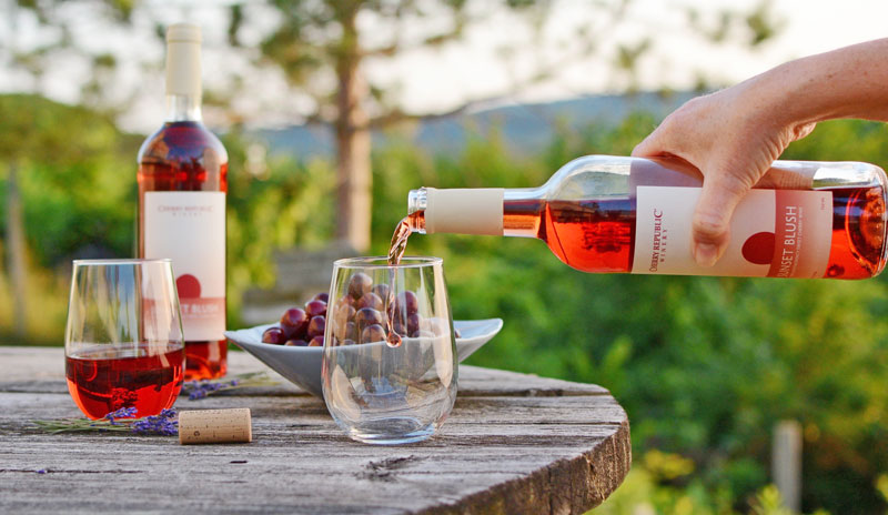 100% Montmorency Cherry Wine Kicks Off Summer at Cherry Republic