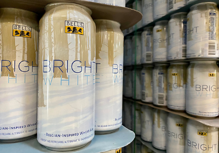 Bell's seasonal beer release, Winter White, gets a makeover; Bright White on its way