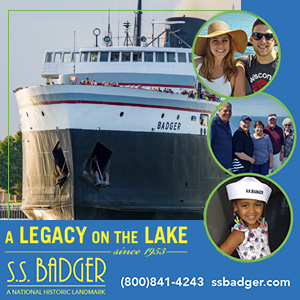 Click for SS Badger Sailing Schedule
